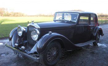 Pillarless Derby Bentley for sale